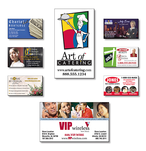 Full Color Business Card Large